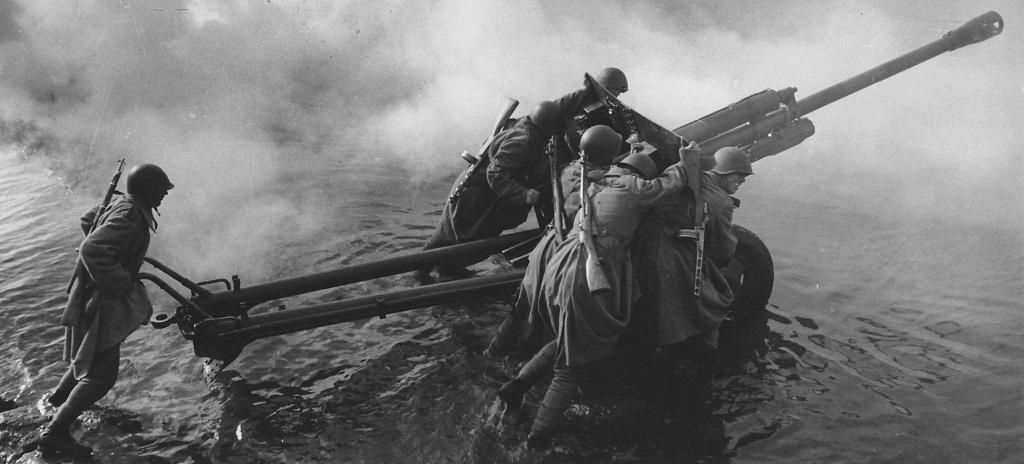 Советская артиллерия в годы ВОВ