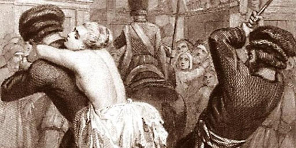 Смотреть видео онлайн телесные наказание женщин.
