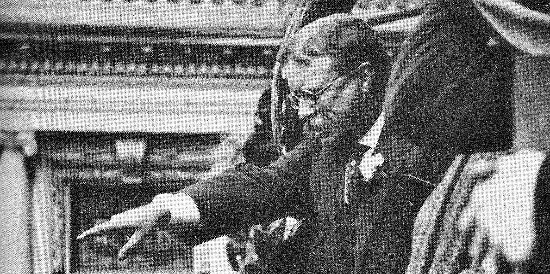 """theodore roosevelt a leader with an iron fist Theodore roosevelt as he shook his fist in the labor leader's face, roosevelt decried gompers' attempt to explain away """"the brutal infamies imposed on."""