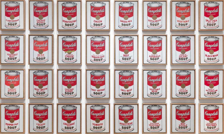 История одного шедевра: «Тридцать две банки супа Кэмпбелл» Уорхола
