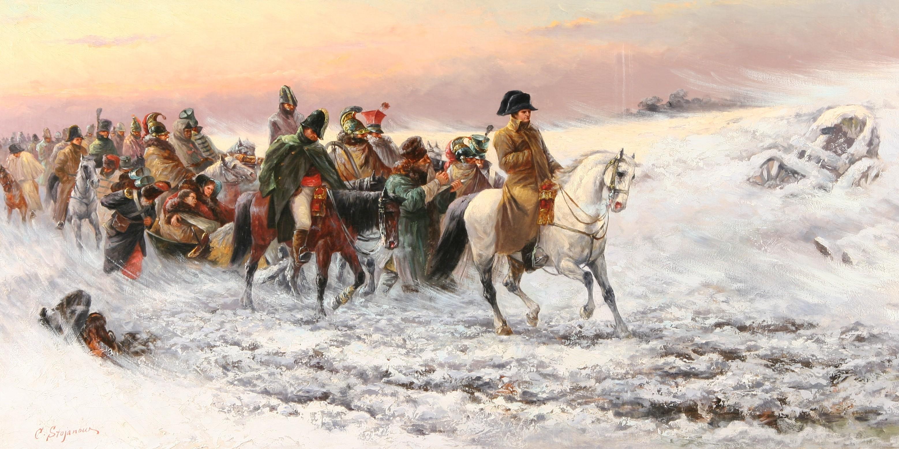 Отступление армии наполеона из москвы (октябрь - декабрь 181.