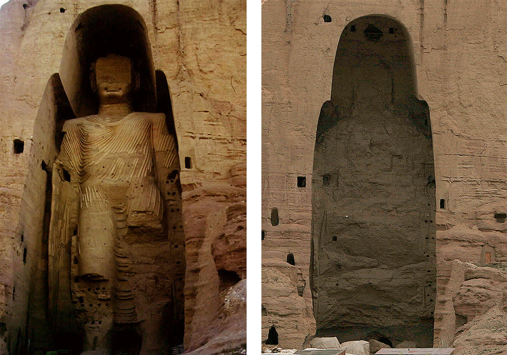 эффективной памятник будды в афганистане фото просто обернутые