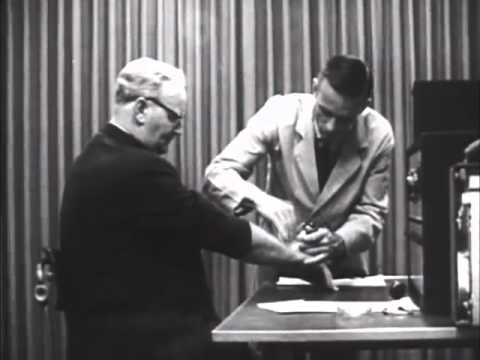 the code of ethics in stanley milgrims experiment Ethics in law enforcement stanley milgram conducted a scientific experiment that milgram's experiment demonstrated the power of authority and how.