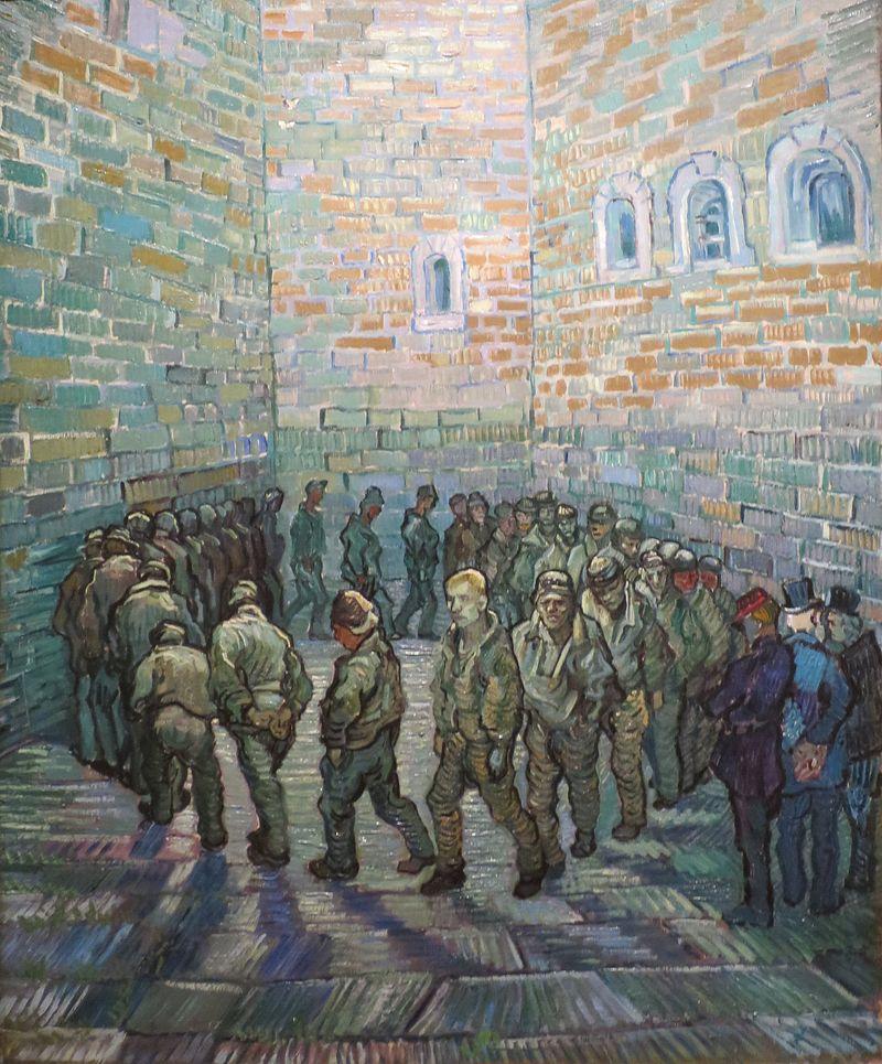 История одного шедевра: «Прогулка заключенных» Ван Гога