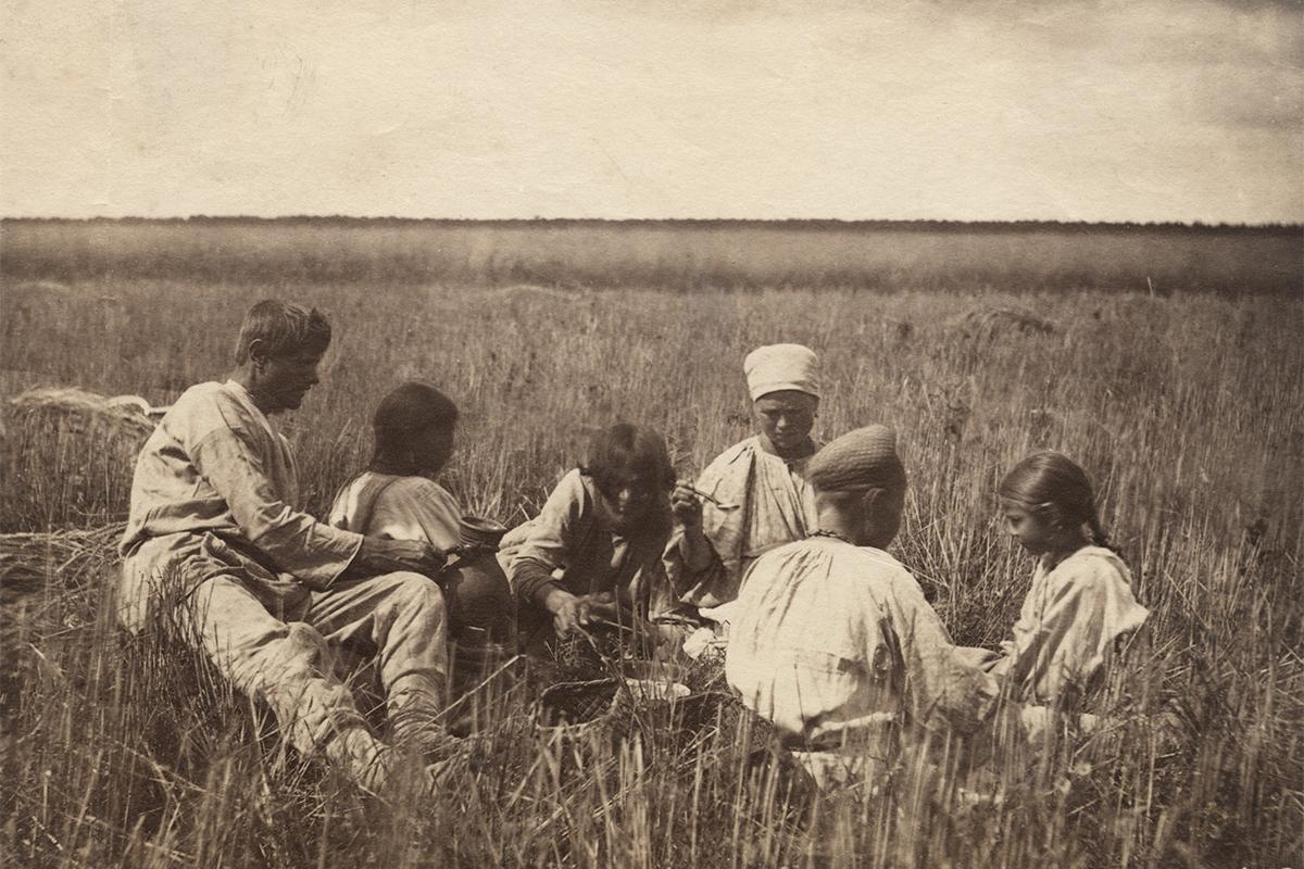 Крестьяне российской империи фото