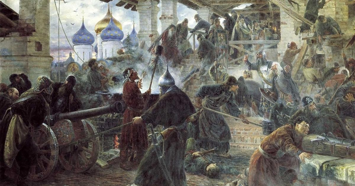 Троицкая осада: героический эпизод Смутного времени