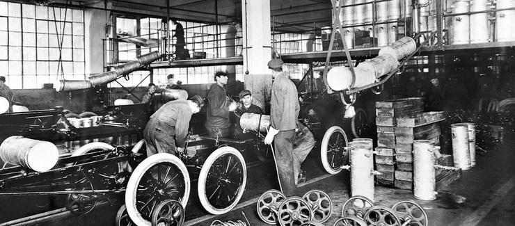 генри форд промышленный конвейер