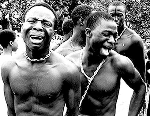 Сексуальные фантазии в рабстве