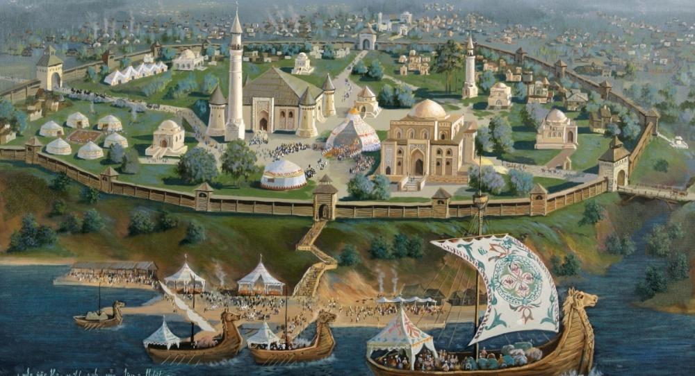 Волжская Булгария: могущественный сосед  Древней Руси