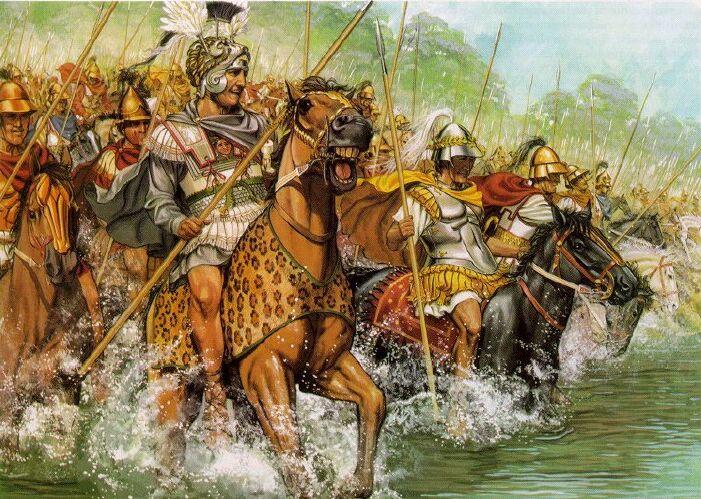 Жажда победы Александра Македонского