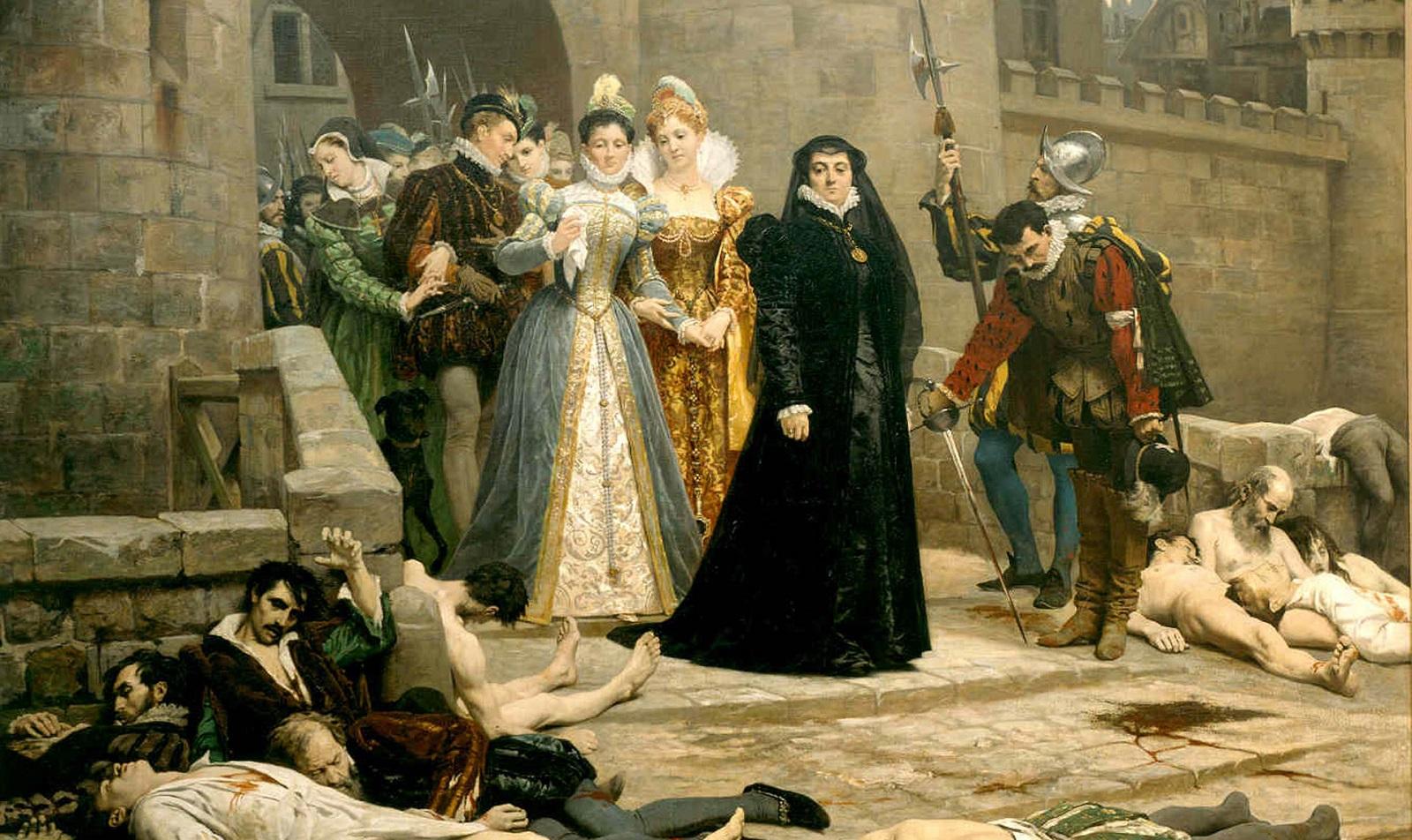 «Утро у ворот Лувра» кисти Эдуара Деба-Понсан, 1880 год.