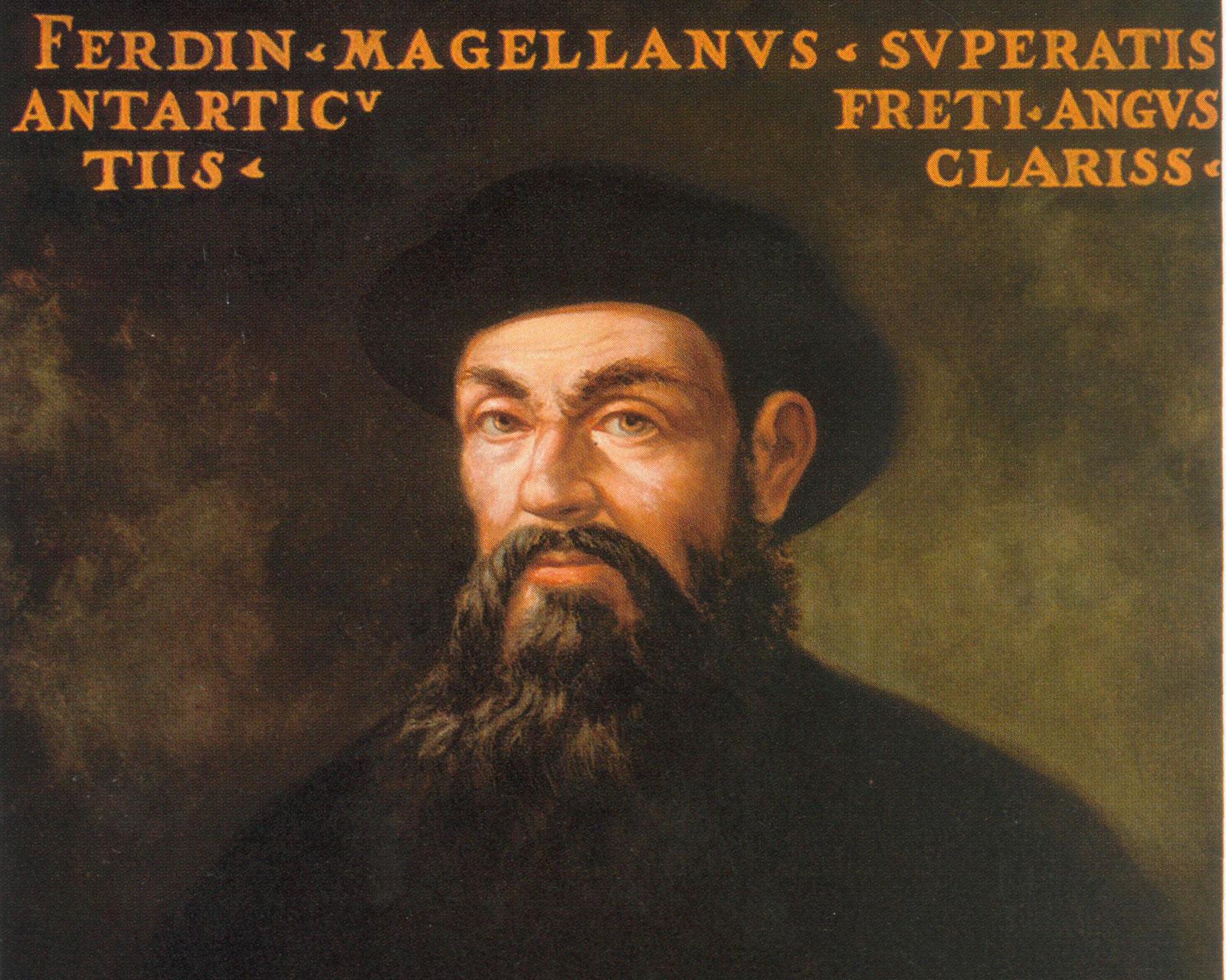 Фернан Магеллан. Портрет работы неизвестного художника 17-го века.