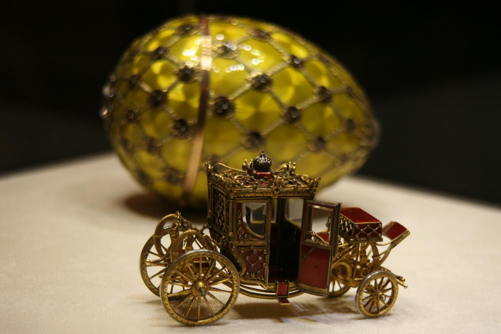 «Коронационное» — самое знаменитое яйцо Фаберже.