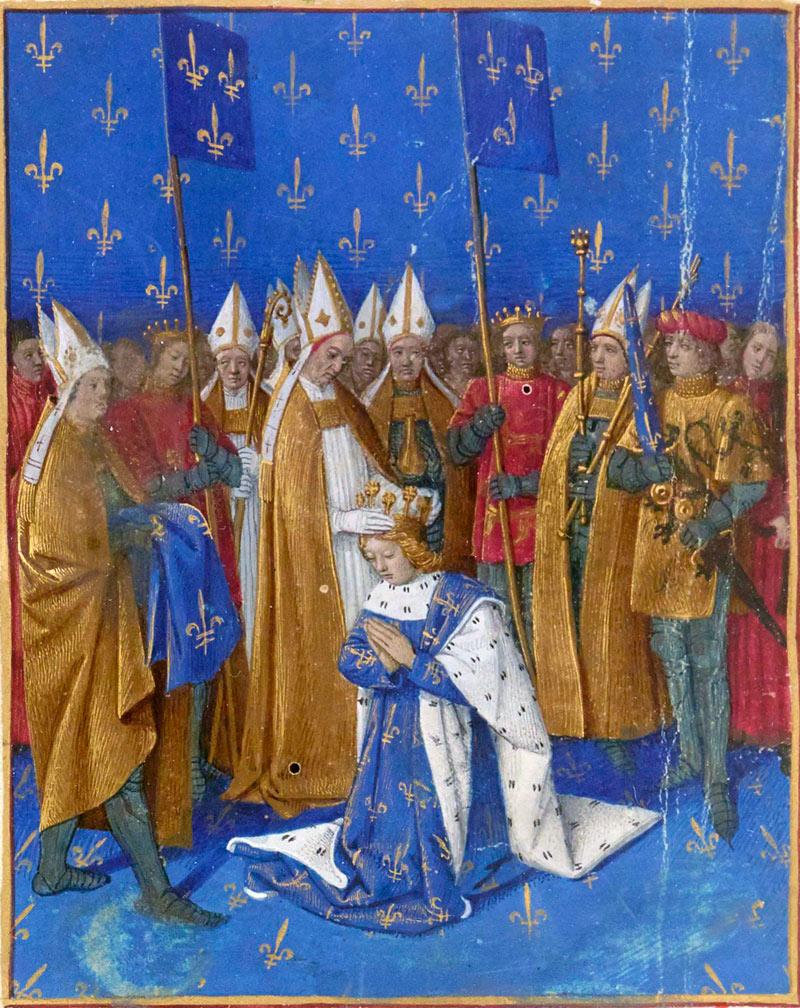 Коронация Карла VI.