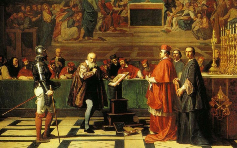 Перед судом инквизиции.