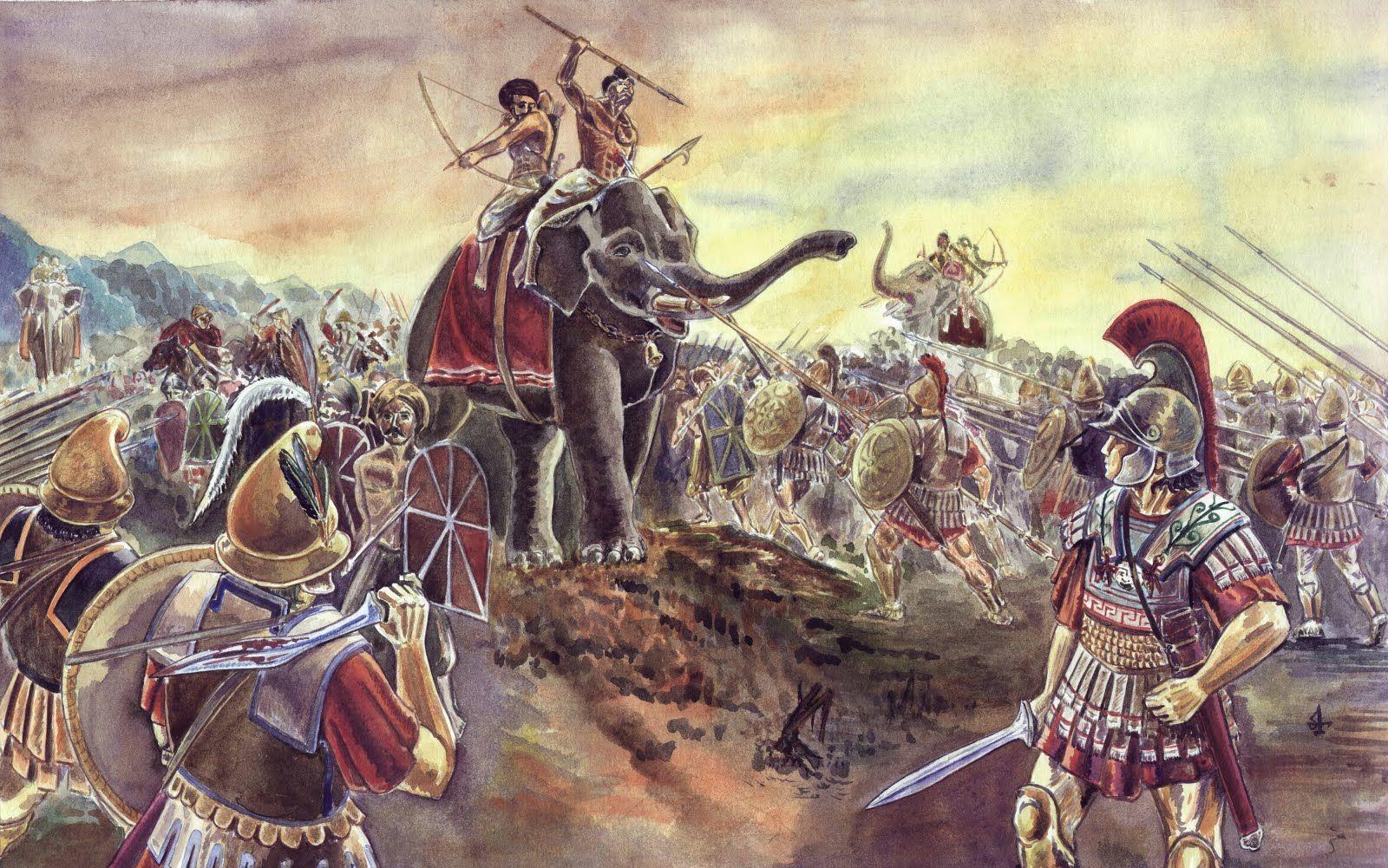 Битва при Гидаспе.