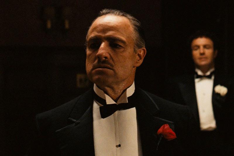 Кадр из фильма «Крестный отец».