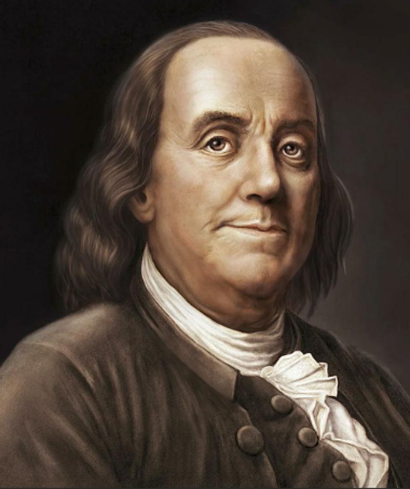 Бенджамин Франклин. Источник: wikipedia.org