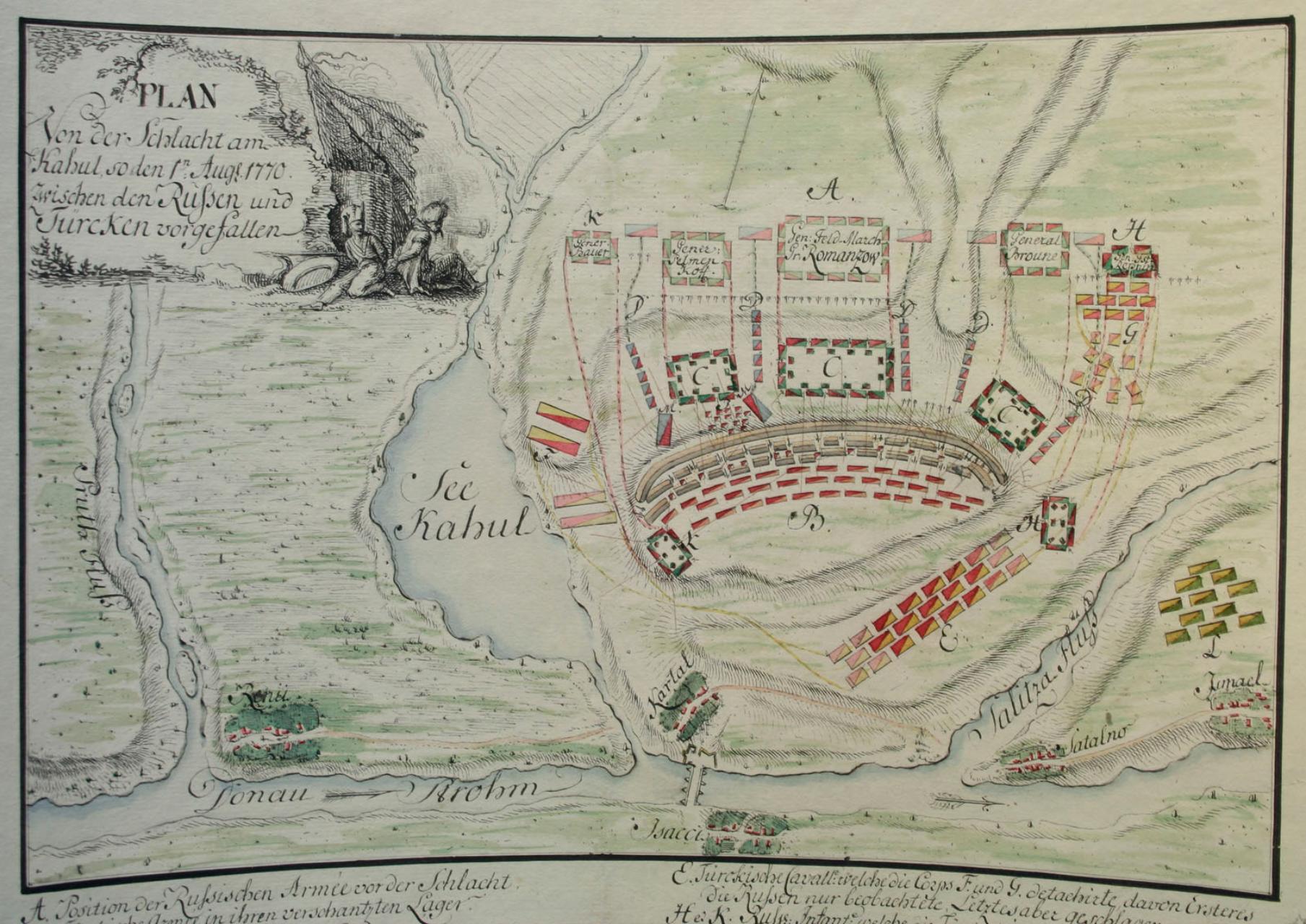 Сражение при Кагуле.