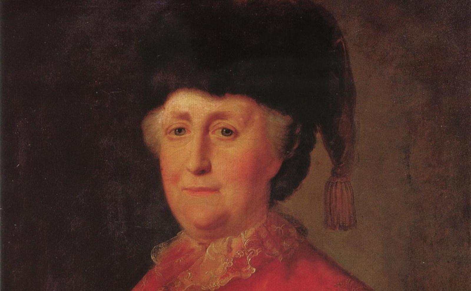 Портрет императрицы Екатерины II в дорожном костюме. Михаил Шибанов, 1787 год.