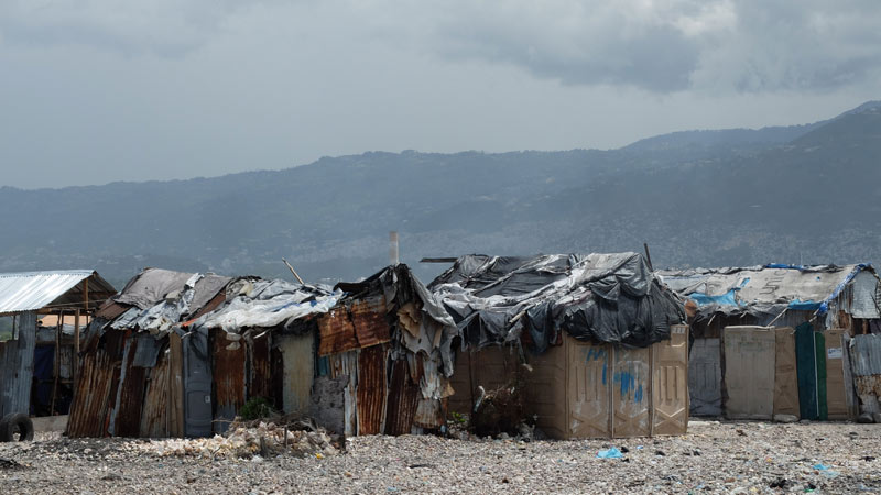 Район Сите-Солей, Порт-о-Пренс, Гаити.