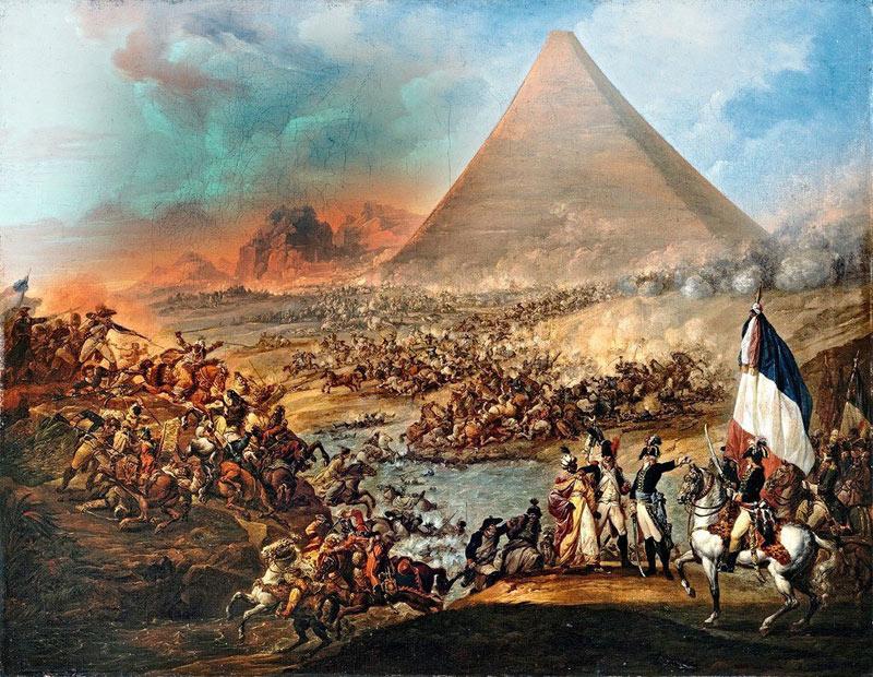 Французская армия в Египте.
