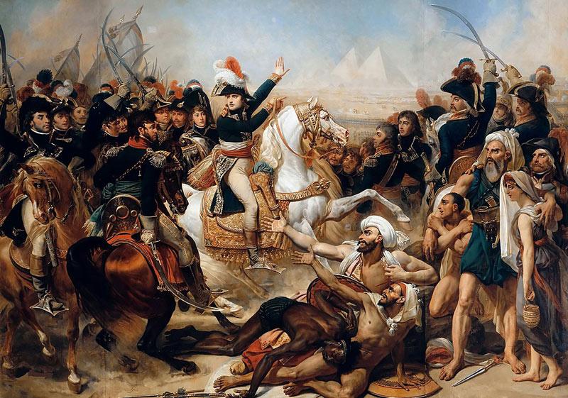 Антуан-Жан Гро. «Битва у пирамид».