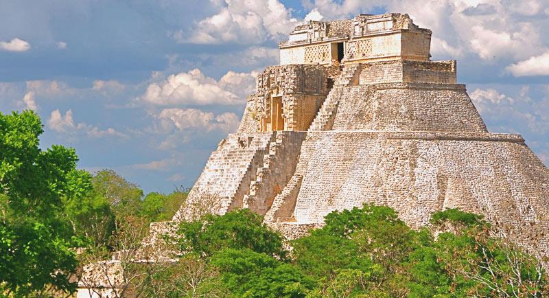 Пирамида в Ушмали.