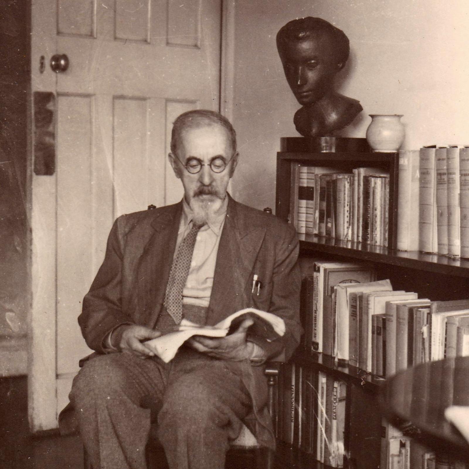 Философ С.Л. Франк, эмигрант.