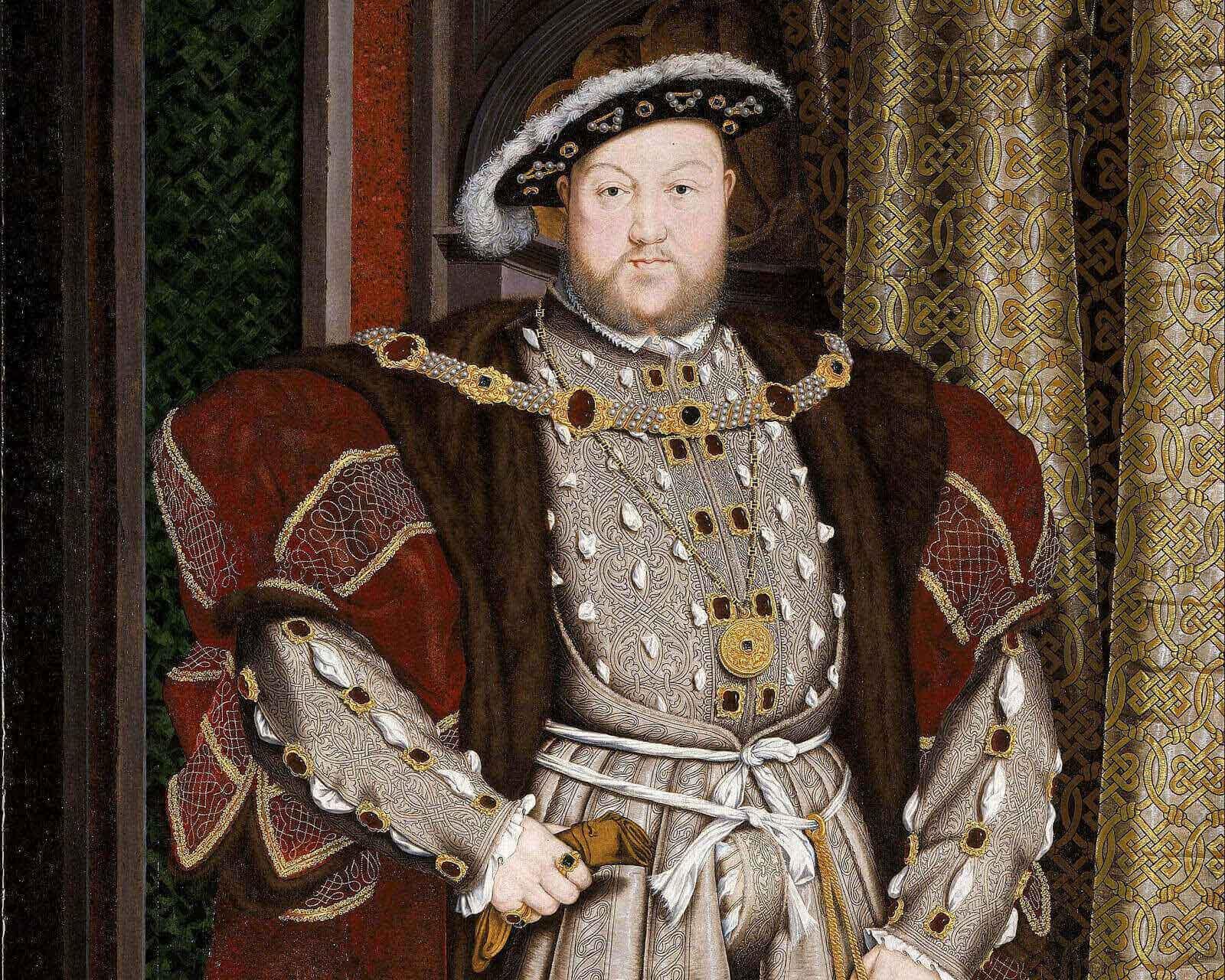 Портрет Генриха VIII. Ганс Гольбейн-Мл.