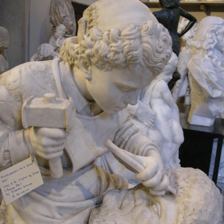 Юный Микеланджело, Чезаре Дзоччи.