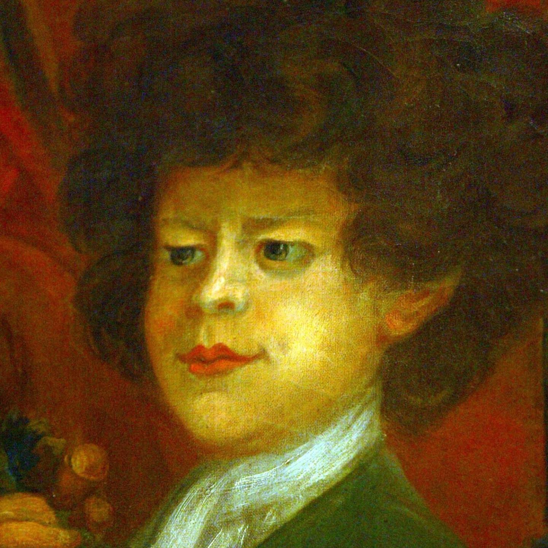 Питер, «дикий мальчик». Портрет в Кенсингтонском дворце.