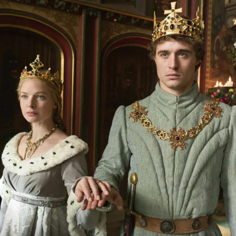 Кадр из «Белой королевы»: Елизавета и Эдуард. Источник: vulture.com