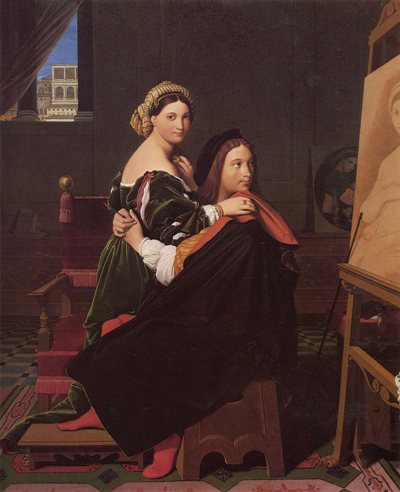 ФОТО «Рафаэль и Форнарина», Жан Энгр, 1813.jpg
