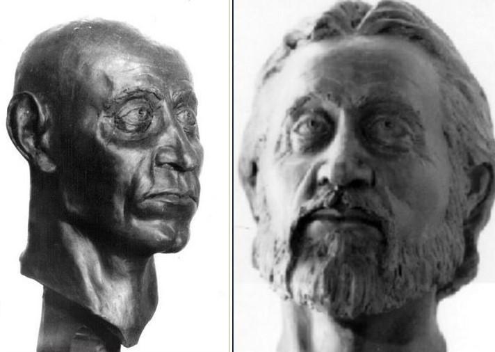 Антропологическая реконструкция внешнего вида Ярослава. <br>