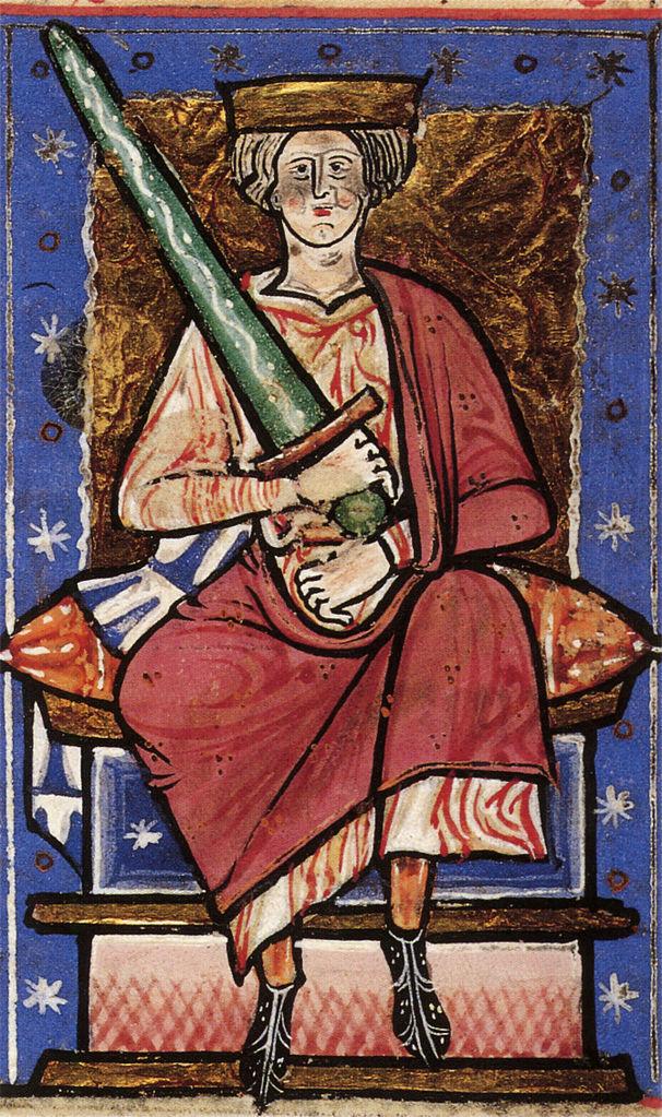 Король Этельред II Неразумный [978−1013; 1014−1016]. Источник: Wikimedia Commons