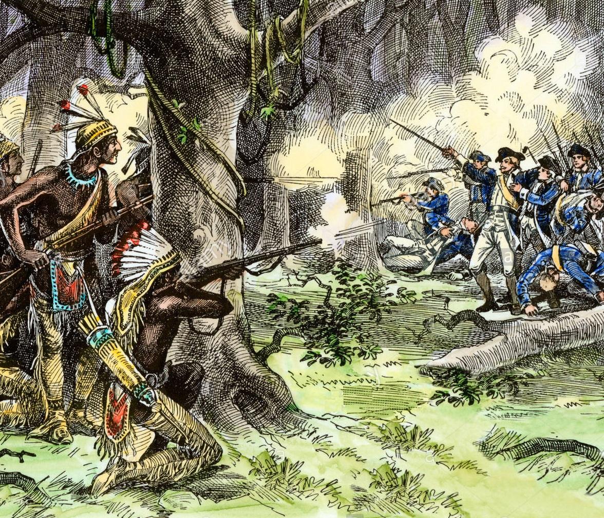 Сражение с карательным отрядом Хармара, 1790г.