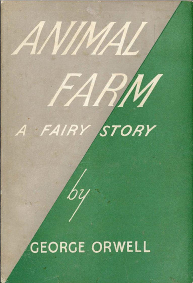 «Скотный двор», первое издание. <br>