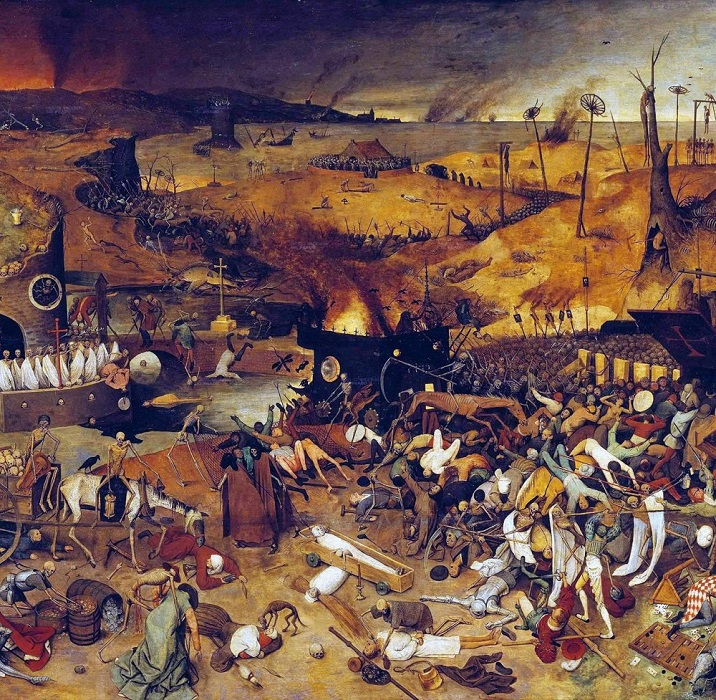 «Триумф смерти», худ. П. Брейгель.