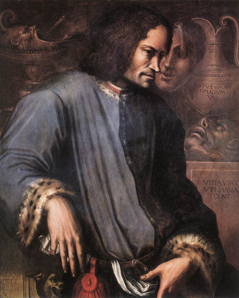 Дж. Вазари. Портрет Лоренцо Медичи.