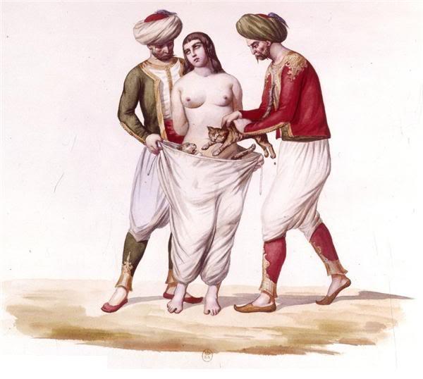 как раньше наказывали неверных жен