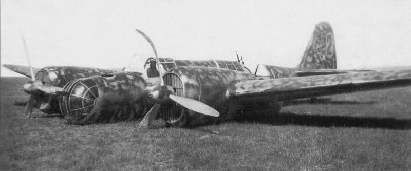Бомбардировщик СБ-2, 1939.