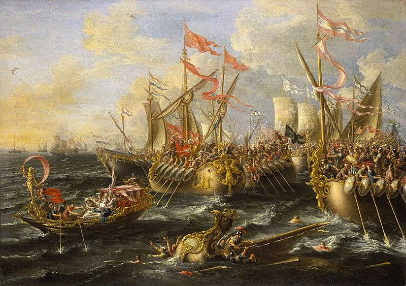 Лоренцо А. Кастро, «Сражение при Акциуме».