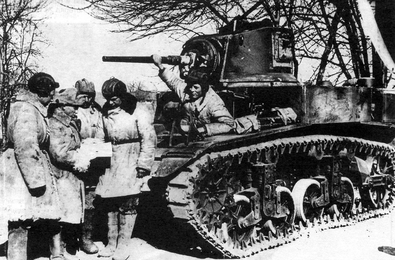 М-3 «Стюарт» на службе вКрасной Армии.