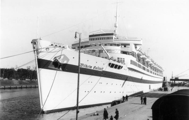 Пассажирский лайнер «Вильгельм Густлофф».