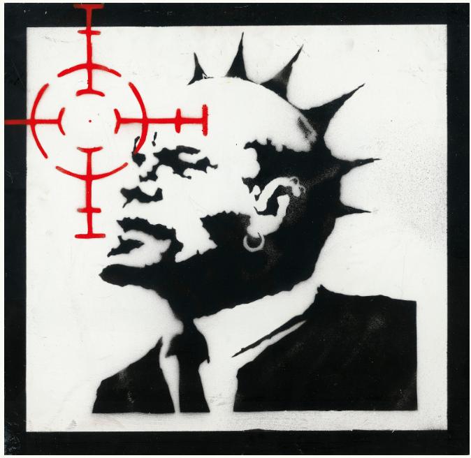 Картина Бэнкси с Лениным продана на аукционе за 960 тыс. долл.
