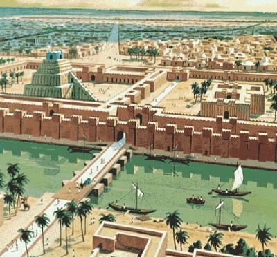 Где был вавилон на современной карте