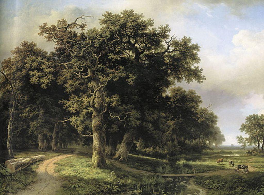 «Пейзаж с ручьем», Маринус Куккук-старший. <br>