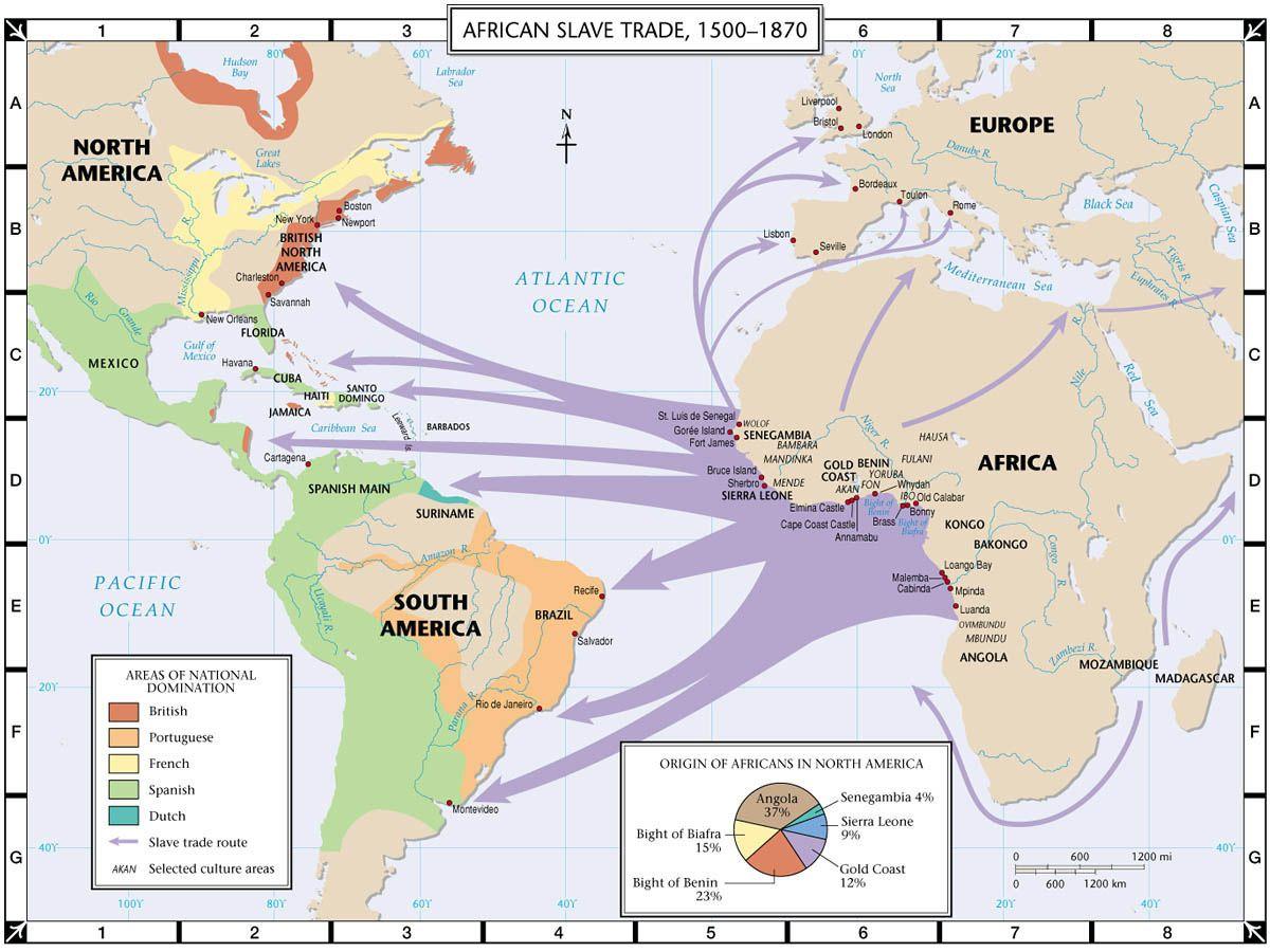 Трансатлантическая торговля. <br>