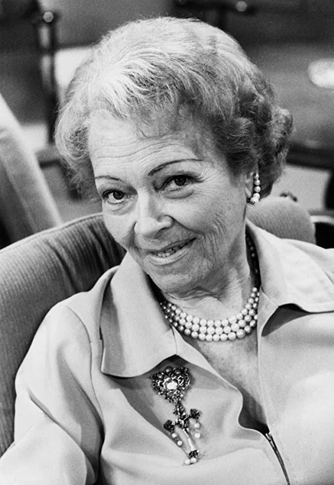 Ольга Чехова в телешоу «Seniorenclub» [1968].